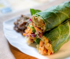 Gorilla Foods Raw Thai Fresh Wraps